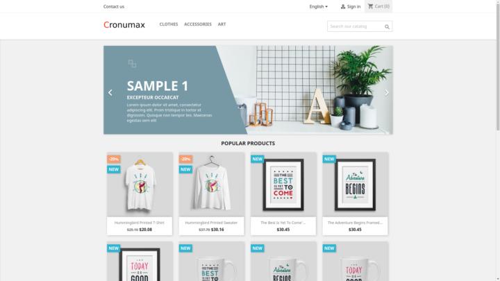 Ecommerce Platform Demo